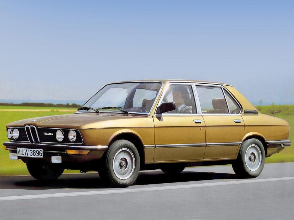 BMW 5 series 1972 года