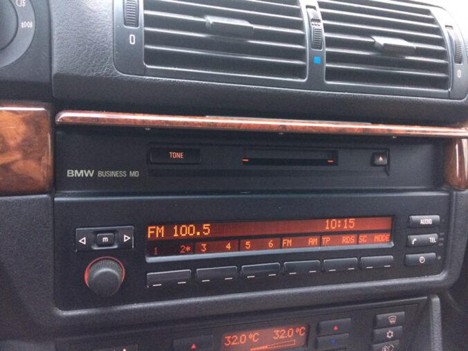 Штатная магнитола BMW E39