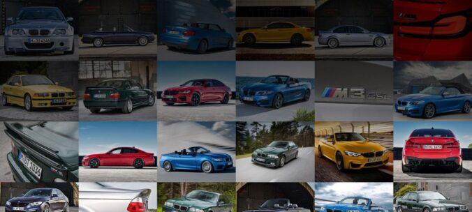 Оригинальные цвета BMW M